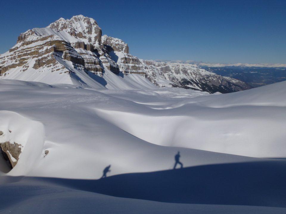 Passo Grosté (2550 m) da Malga Vagliana – 30/11/2019