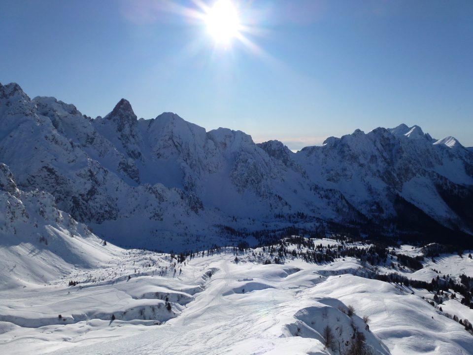 Monte Gardena (2117 m) e Monte Campioncino – 27/12/2019
