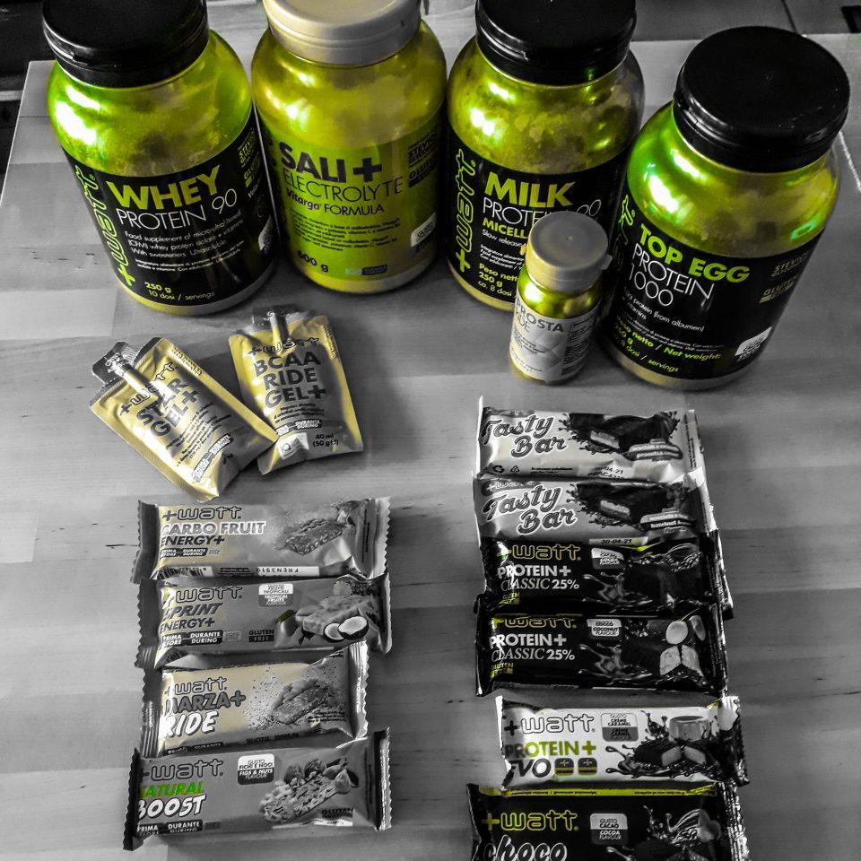 Proteine in polvere +Watt per un efficace recupero muscolare