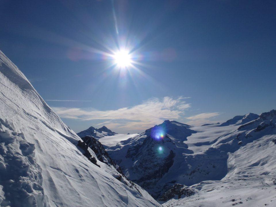 Cima Presena (3069 m) dalla Val Presena (Cantiere)– 02/01/2020