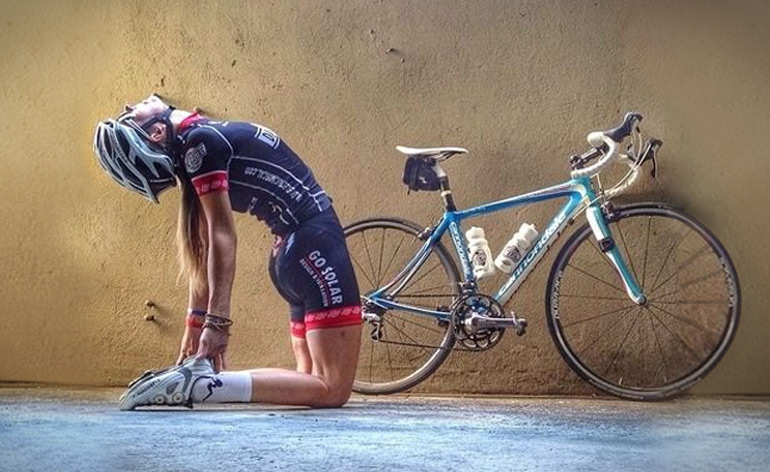 Lo yoga per i ciclisti