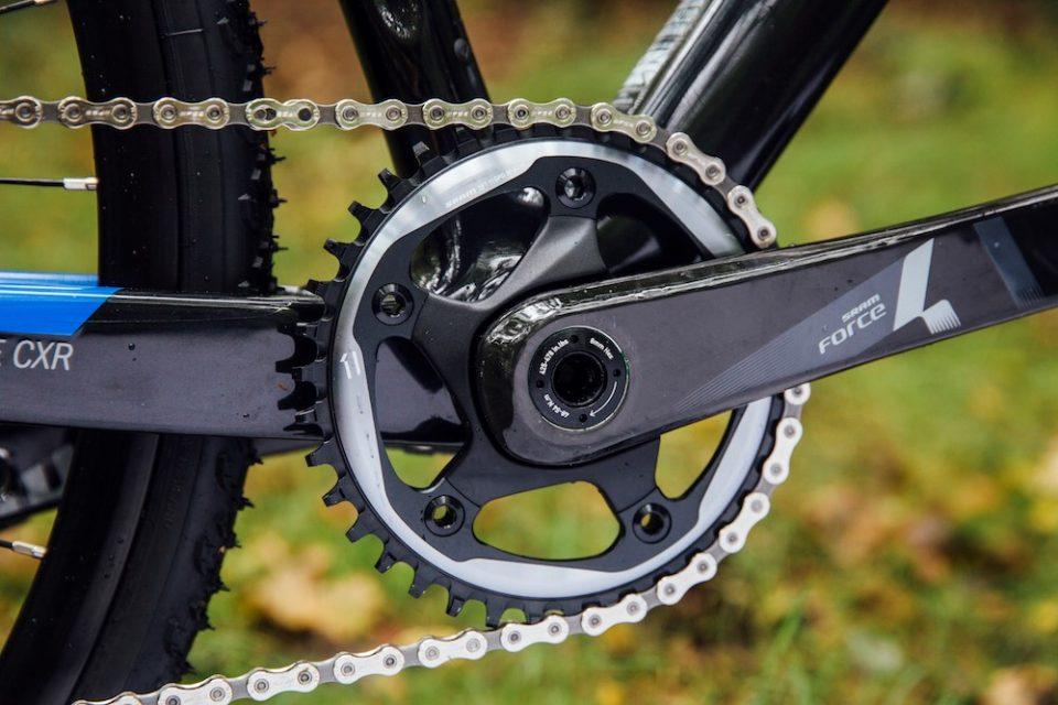 Il monocorona sulla bici da corsa