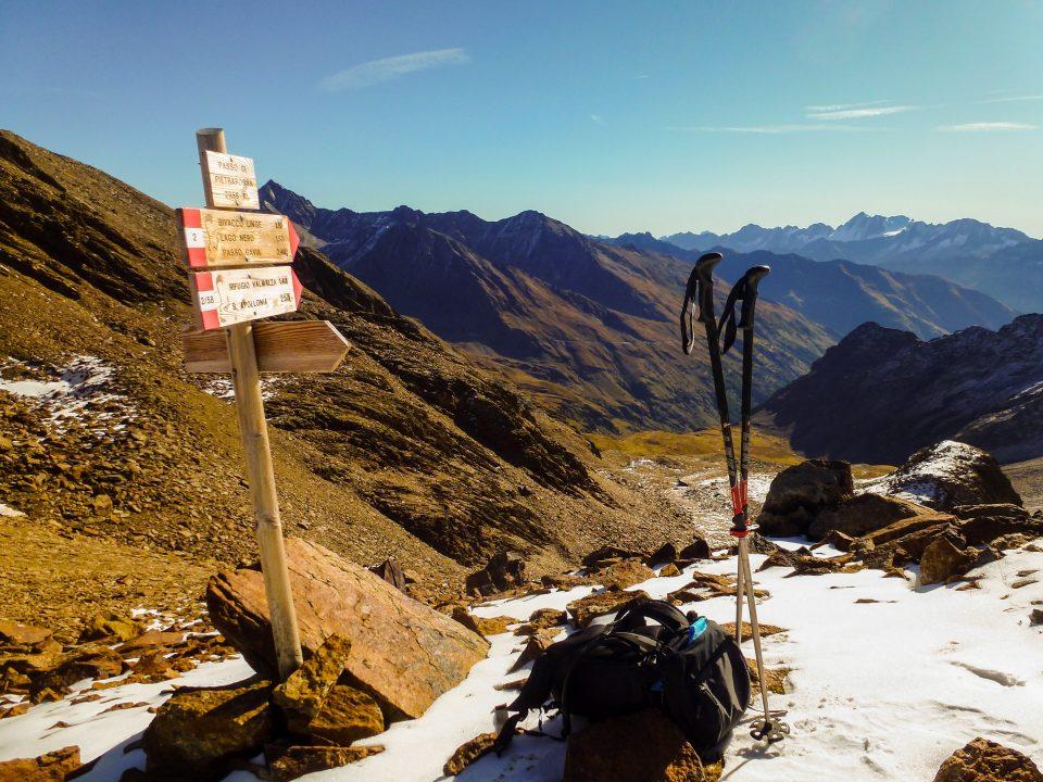 Passo di Pietrarossa (2957 m) da Sant'Apollonia – 12/10/2019