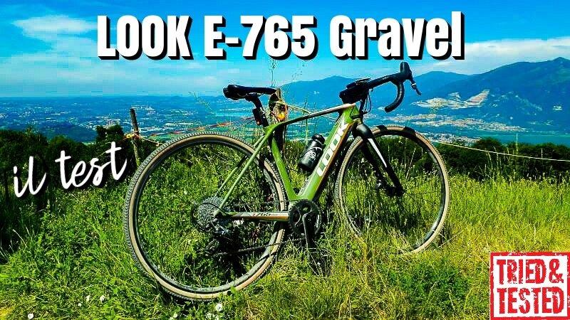 LOOK E-765 Gravel: la versione elettrica della gravel