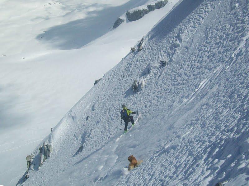 Monte Cercen 3280 m – Canalone Nord