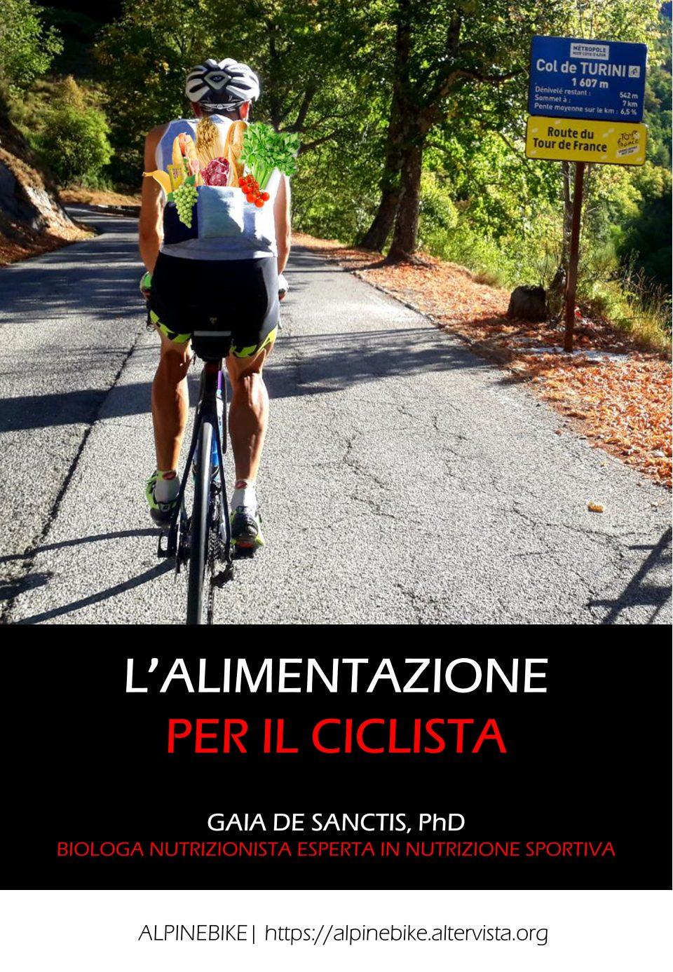 L'alimentazione per il ciclista – Ebook e versione cartacea disponibili su Amazon