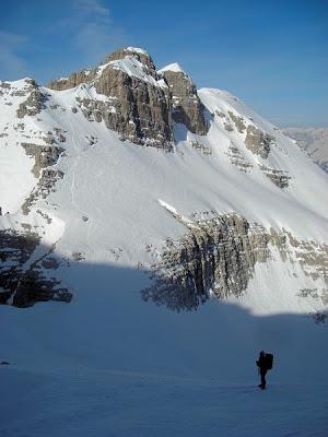 Cima Brenta 3151 m per lo Scivolo Massari
