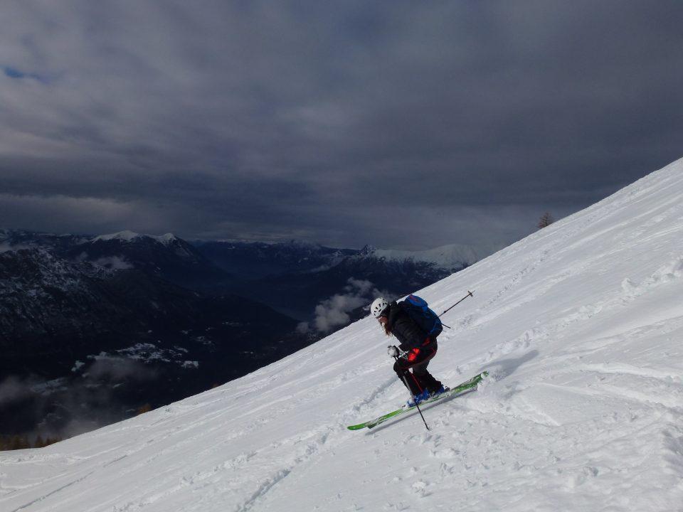 Cimone di Margno dall'Alpe di Paglio – 16/12/2020