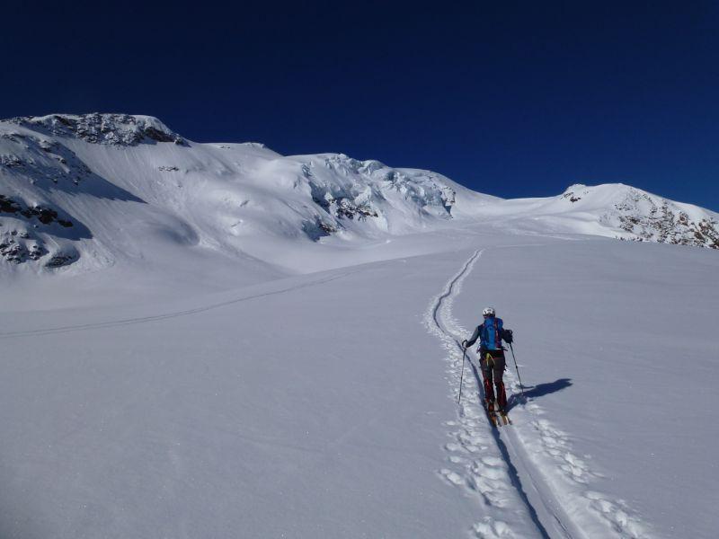 Punta San Matteo (3678 m) dal Rifugio Forni