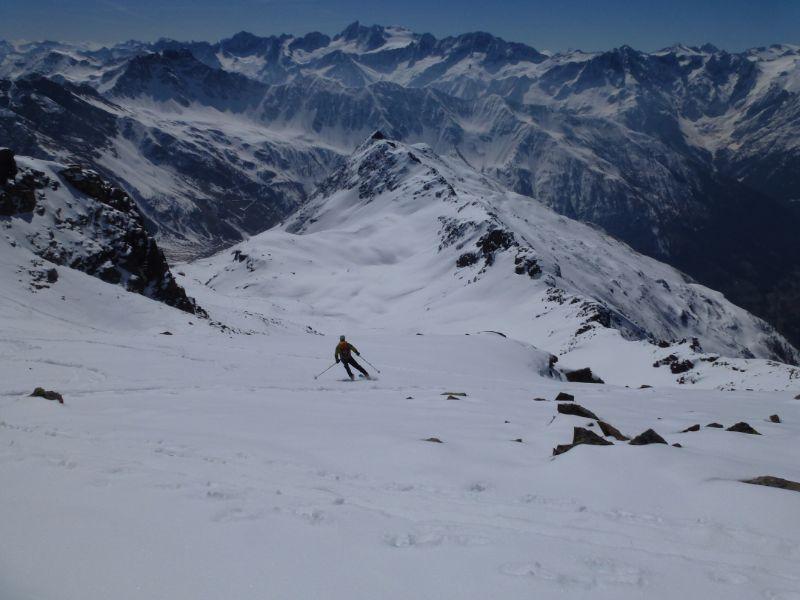 Cima Caione (3140 m) da Case di Viso