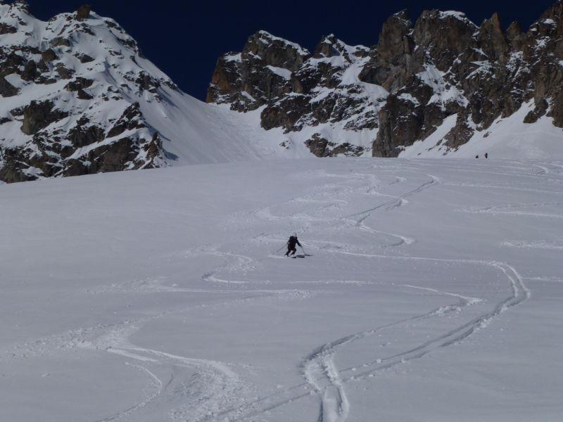 Passo del Castellaccio (2963 m) dal Passo del Tonale