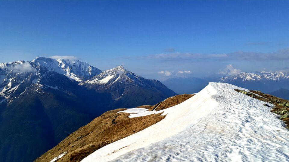 Cima Rovaia 2525 m da Vezza d'Oglio